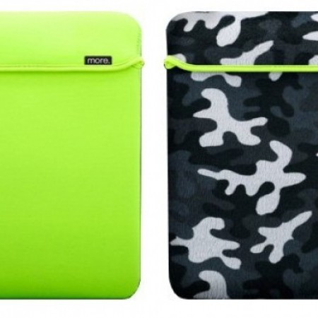 Чехол Safara Collection iPad (Neon Green/Blue Camo)
