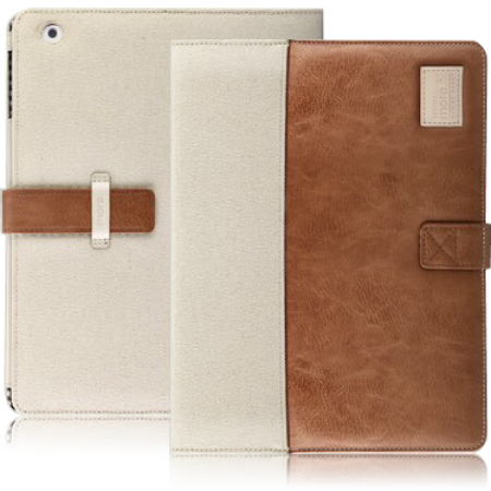Чехол Craft Plus Collection для New iPad (Brown/Canvas) фото 1