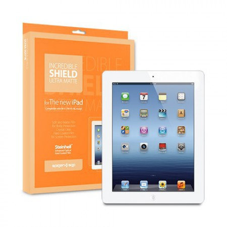 Пленка SGP The new iPad 4G LTE / Wifi Incredible Shield Series (Ultra Matte) фото 1