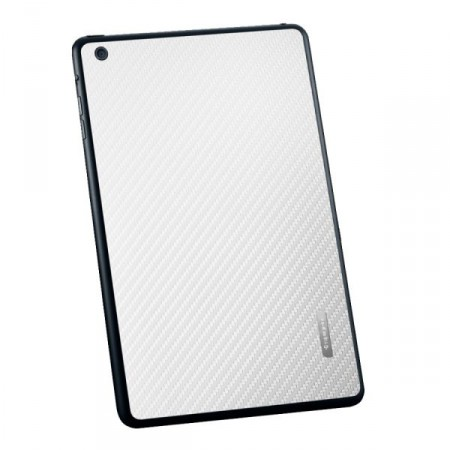 Пленка iPad Mini Skin Guard Set (Carbon pattern white) фото 1