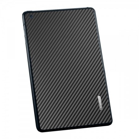 Пленка iPad Mini Skin Guard Set (Carbon pattern black) фото 1
