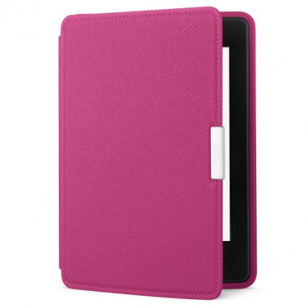 Чехол Amazon Kindle Paperwhite Leather Cover Fuchsia (5 и 6 поколение) фото 1