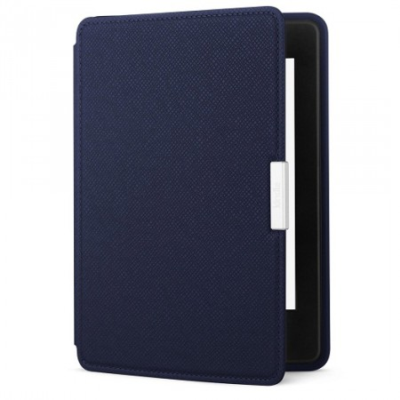 Чехол Amazon Kindle Paperwhite Leather Cover Ink Blue фото 1