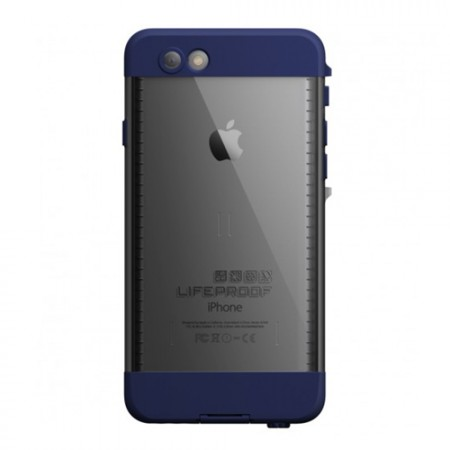 Чехол Lifeproof Nuud для iPhone 6 Black/Blue фото 1