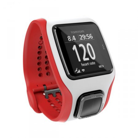 TomTom Runner Cardio Red/White фото 1