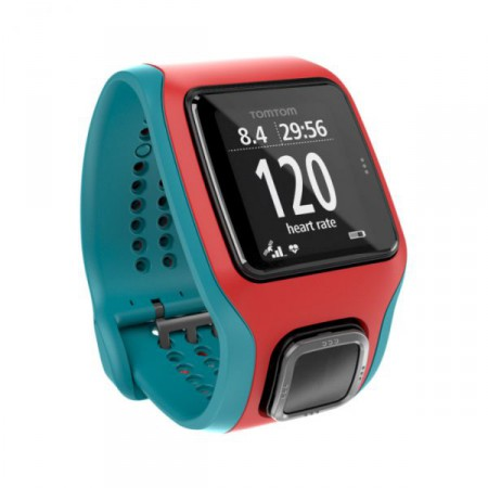 TomTom Runner Cardio Red/Blue фото 1