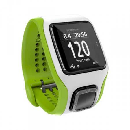 TomTom Runner Cardio White/Green фото 1