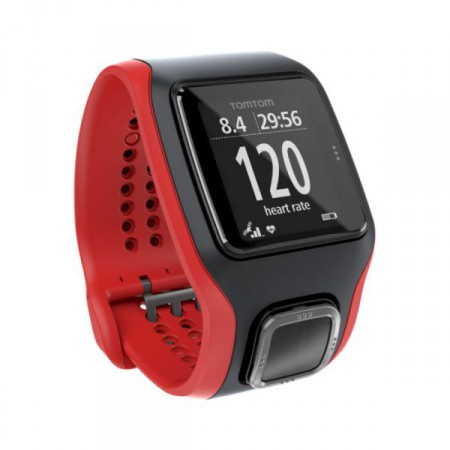 TomTom Runner Cardio Red/Black фото 1