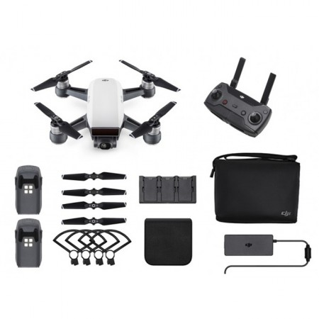 Квадрокоптер DJI Spark Fly More Combo, Alpine White фото 1