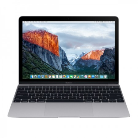 "Ноутбук Apple MacBook 12"" 2016 MLH72 (Intel Core m3 1100 MHz/8GB/256GB/Intel HD Graphics 515/Space Gray) фото 1"