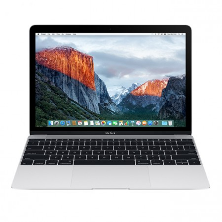 "Ноутбук Apple MacBook 12"" 2016 MLHA2 (Intel Core m3 1100 MHz/8GB/256GB/Intel HD Graphics 515/Silver) фото 1"