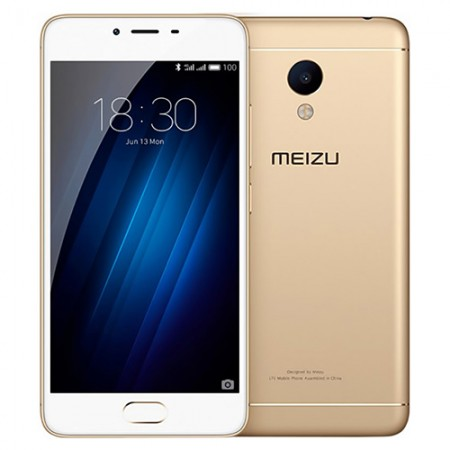 Смартфон Meizu M3S 16Gb Gold фото 1