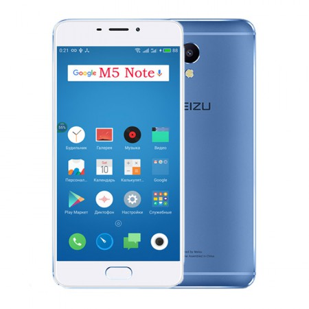 Смартфон Meizu M5 Note 16Gb Blue фото 1