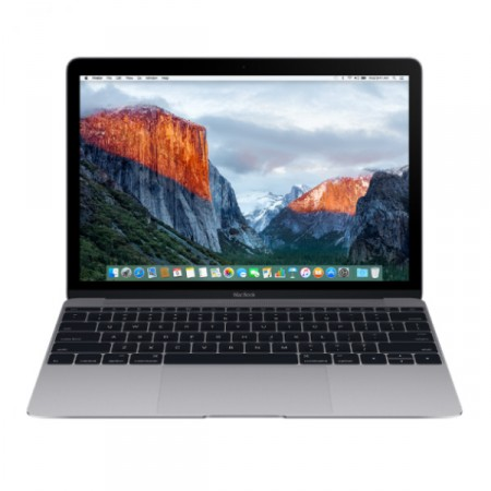 "Ноутбук Apple MacBook 12"" 2017 MNYF2 (Intel Core m3 1200 MHz/8Gb/256Gb/Intel HD Graphics 615/Space Gray) фото 1"