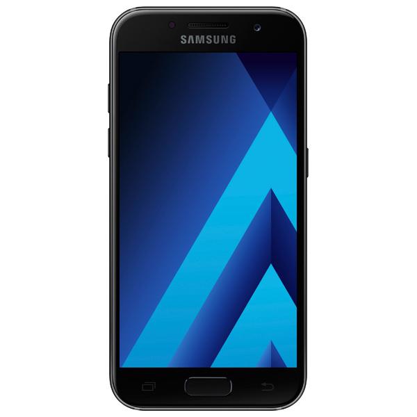 Смартфон Samsung Galaxy A3 (2017) SM-A320F Black  фото