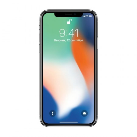 Смартфон Apple iPhone X 64 Silver фото 1