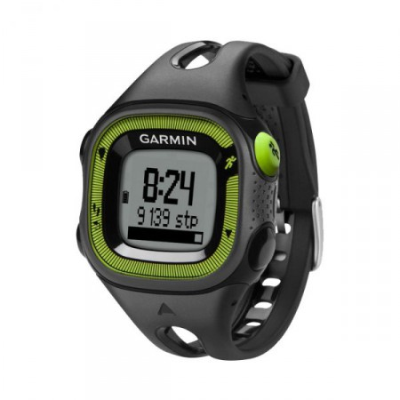 Часы для бега Garmin Forerunner 15 GPS Black/Green фото 1