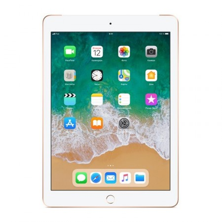 "Планшет Apple iPad 9.7"" 2018 32Gb Wi-Fi+LTE Gold фото 1"