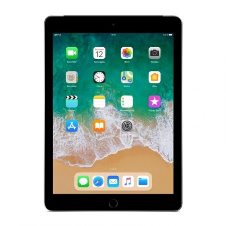 "Планшет Apple iPad 9.7"" 2018 128Gb Wi-Fi+LTE Space Gray фото 1"