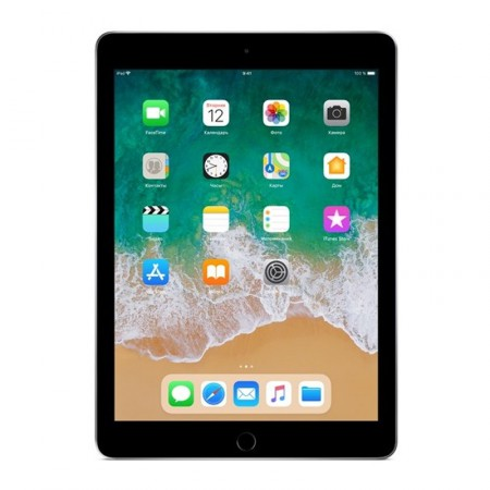 "Планшет Apple iPad 9.7"" 2018 128Gb Wi-Fi Space Gray фото 1"
