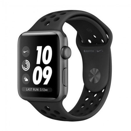 Умные часы Apple Watch S3 Nike+ GPS 38mm Space Gray Aluminum Case with Anthracite/Black Nike Sport Band (MTF12/MQKY2) фото 1
