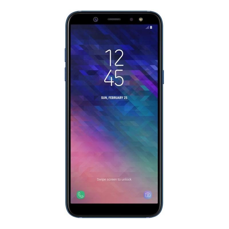 Смартфон Samsung Galaxy A6 (2018), голубой  фото