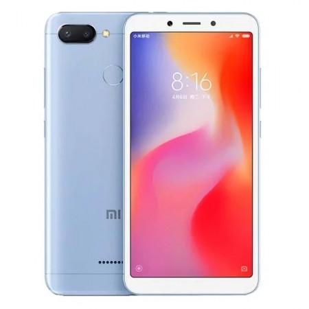 Смартфон Xiaomi Redmi 6 3/32GB Blue фото 1