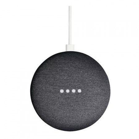 Умная колонка Google Home mini, Charcoal фото 1
