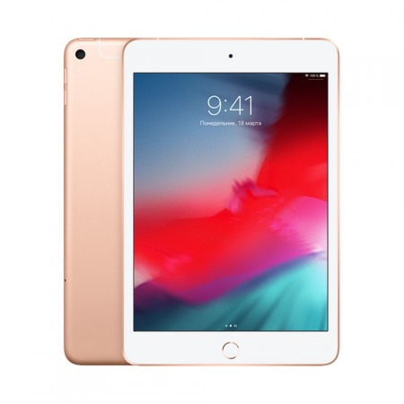 Планшет Apple iPad mini 2019 64Gb Wi-Fi+Cellular Gold фото 1