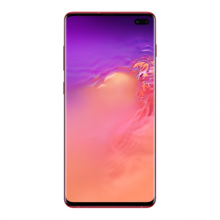 Смартфон Samsung Galaxy S10 Plus 128GB Гранат (SM-G975F/DS) фото 1