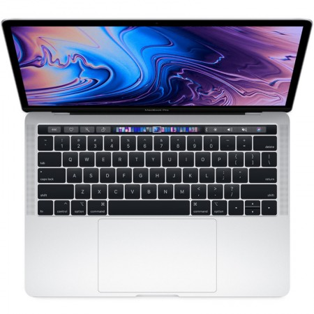 "Ноутбук Apple MacBook Pro 13"" with Touch Bar 2019 MV9A2 (Intel Core i5 2400 Mhz/13.3""/2560x1600/8Gb/512Gb SSD/Intel Iris Plus Graphics 655/Silver) фото 1"