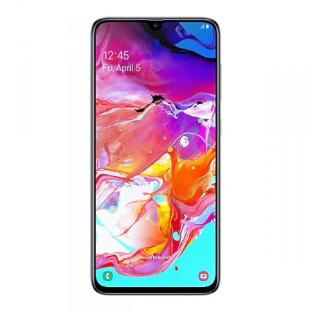 Смартфон Samsung Galaxy A70 (2019) 128Gb White фото 1