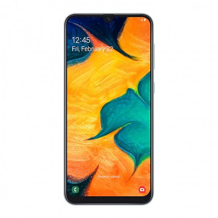 Смартфон Samsung Galaxy A30 (2019) 32Gb White фото 1