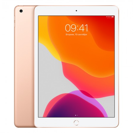 "Планшет Apple iPad 10.2"" 2019 128Gb Wi-Fi+LTE Gold фото 1"