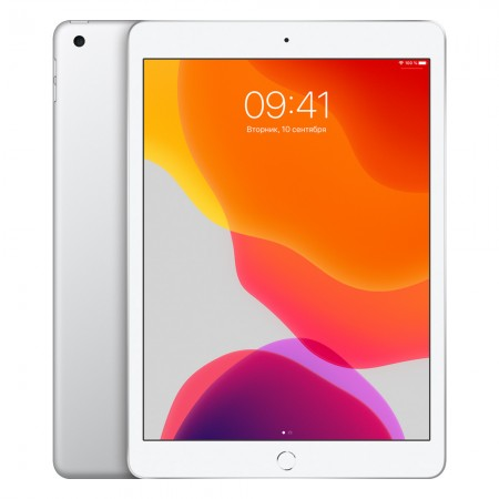 "Планшет Apple iPad 10.2"" 2019 32Gb Wi-Fi Silver фото 1"