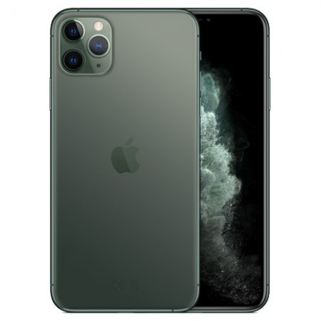 Смартфон Apple iPhone 11 Pro Max 512GB Midnight Green (MWHR2RU/A) фото 1