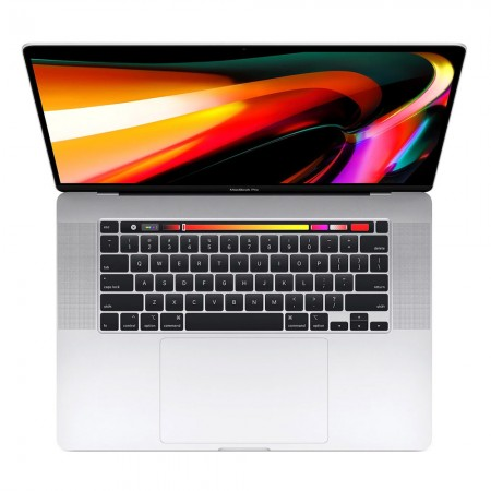 "Ноутбук Apple MacBook Pro 16 with Retina display and Touch Bar Late 2019 MVVL2 (Intel Core i7 2600 MHz/16 ""/3072x1920/16GB/512GB SSD/DVD нет/AMD Radeon Pro 5300M/Wi-Fi/Bluetooth/macOS) «Серебристый»"