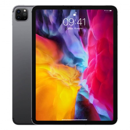 "Планшет Apple iPad Pro 12.9"" (2020) 256GB Wi-Fi Space Gray фото 1"