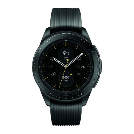 Умные часы Samsung Galaxy Watch (42 mm) midnight black/onyx black (Черные) фото 1
