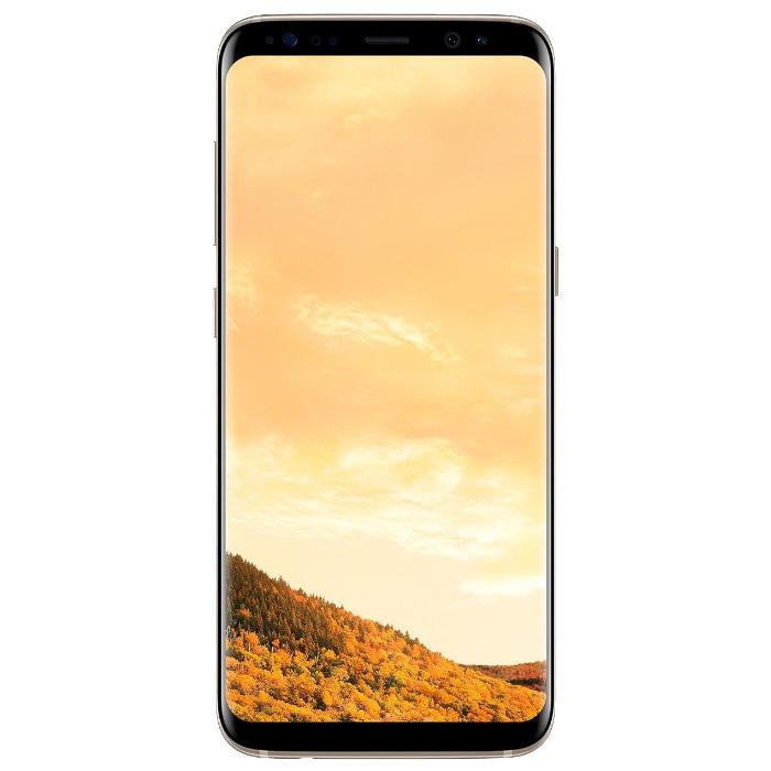 Смартфон Samsung Galaxy S8 Plus 64Gb G955, Черный бриллиант  фото