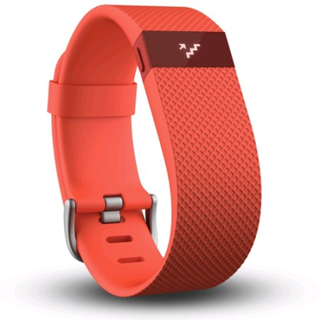Браслет Fitbit Charge HR Tangerine S фото 1