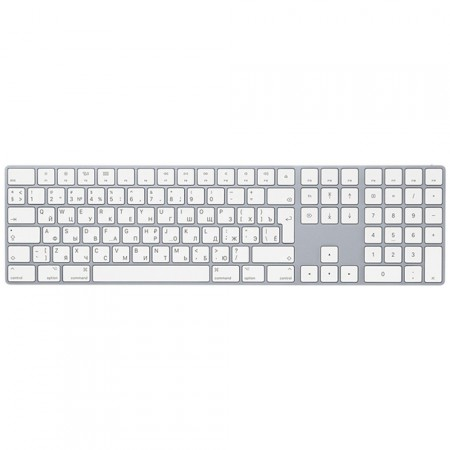 Клавиатура Apple Magic Keyboard with Numeric Keypad, White