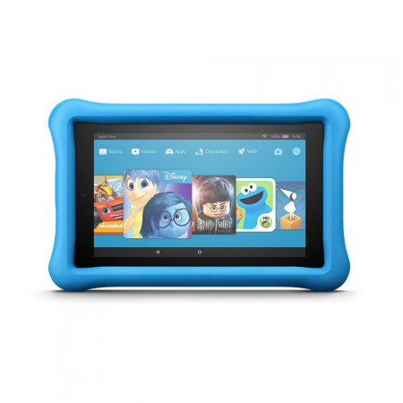 Планшет Amazon Fire 7 for Kids, Blue Kid-Proof Case