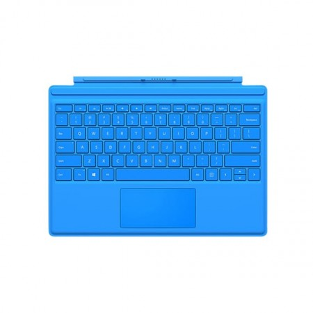 Клавиатура Microsoft Surface Pro 4 Type Cover (Bright Blue) фото 1
