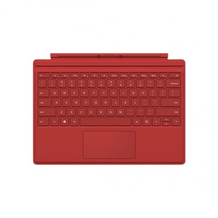Клавиатура Microsoft Surface Pro 4 Type Cover (Red) фото 1