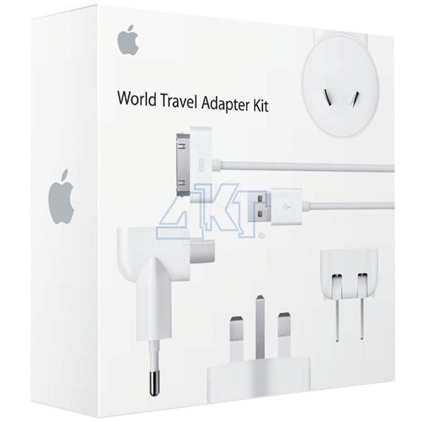 Комплект адаптеров Apple World Travel Adapter Kit (MB974)  фото