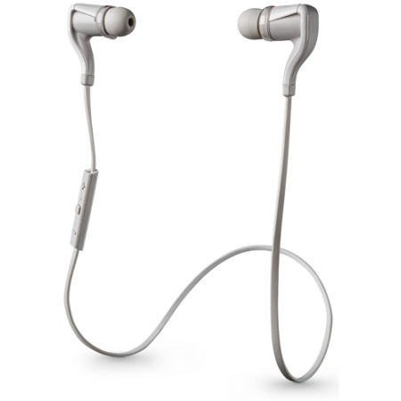 Наушники Plantronics BackBeat GO 2 Bluetooth Wireless Stereo Earbuds White фото 1
