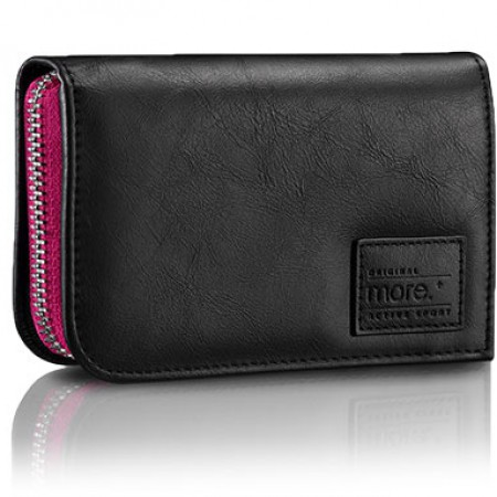 Чехол Carri Zipper Wallet for iPhone 5S(Black/Fuchsia) фото 1