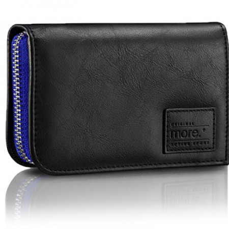 Чехол Carri Zipper Wallet for iPhone 5S (Black/Moonlight Blue) фото 1