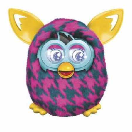 Игрушка Furby Boom (Purple Houndshooth) фото 1